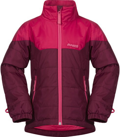 Bergans Ervik Youth Girl Jacket DustyCeriseCeriseHot Pink